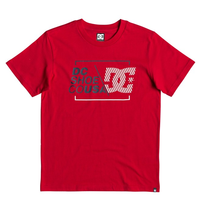 0 Boy's 8-16 Ahero Tee Red EDBZT03331 DC Shoes
