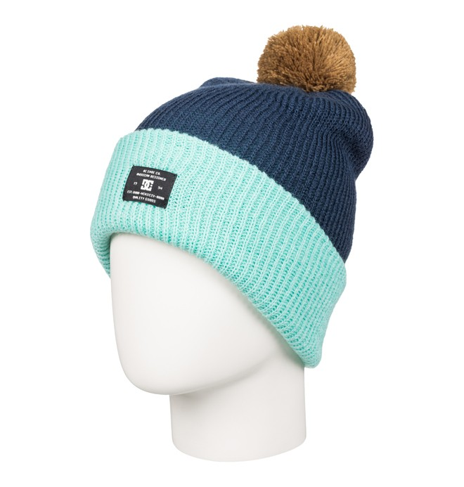 0 Women's Trilogy Bobble Hat  EDJHA03018 DC Shoes