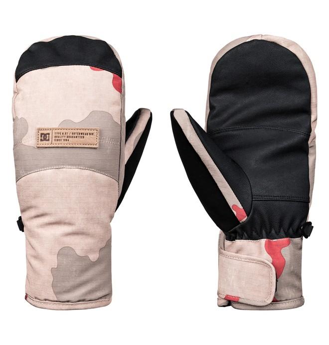 0 Franchise - Ski-/Snowboardfäustlinge für Frauen Rosa EDJHN03011 DC Shoes
