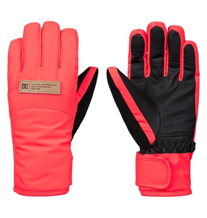 0 Women's Franchise Snowboard/Ski Gloves Pink EDJHN03012 DC Shoes