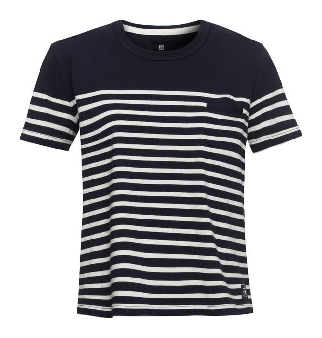0 Berkeley - Cropped T-Shirt Blau EDJKT03027 DC Shoes