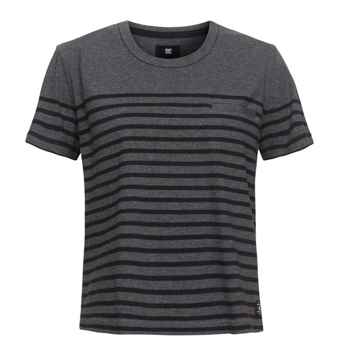0 Berkeley - Cropped T-Shirt Schwarz EDJKT03027 DC Shoes