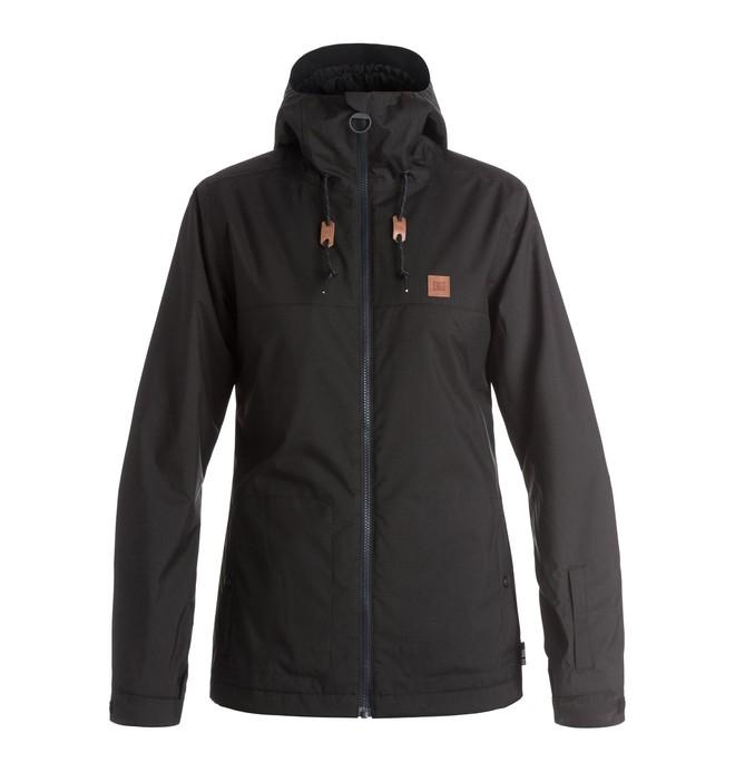 0 Сноубордическая куртка Delinquent Черный EDJTJ03017 DC Shoes