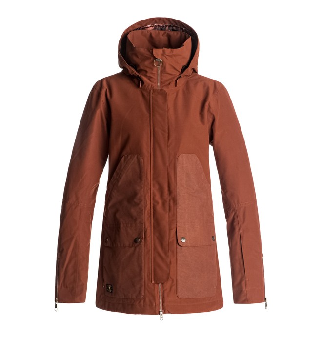 0 Panoramic - Snow Jacket for Women Red EDJTJ03024 DC Shoes