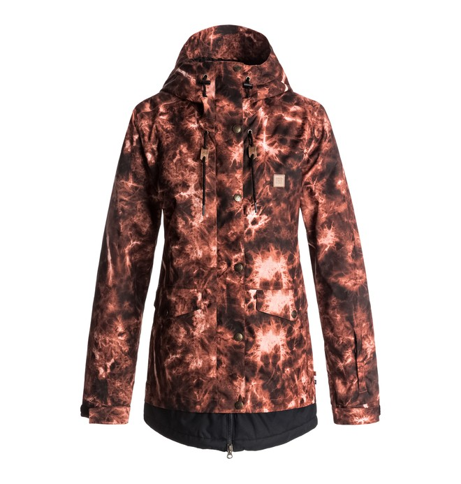 0 Riji - Snow Jacket for Women Red EDJTJ03026 DC Shoes