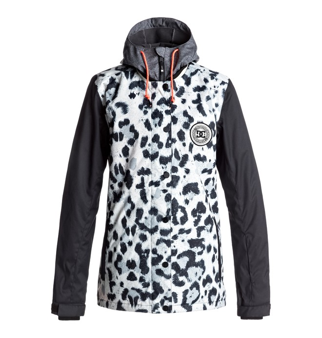 0 DCLA - Snow Jacket for Women White EDJTJ03027 DC Shoes
