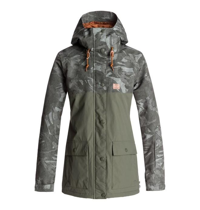 0 Cruiser - Snow Jacket for Women Green EDJTJ03028 DC Shoes