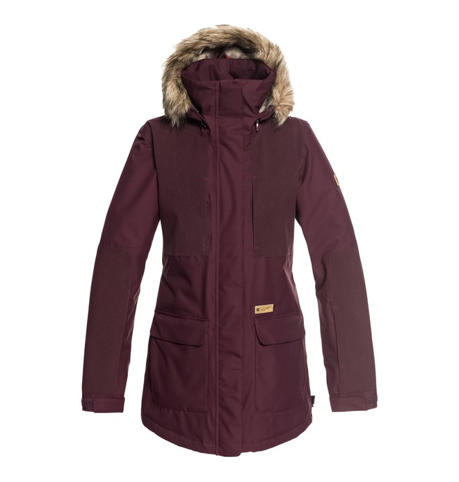 0 Women's Panoramic Snow Jacket Red EDJTJ03032 DC Shoes