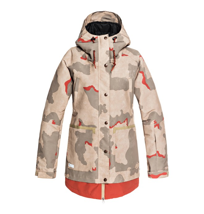 0 Women's Riji Snow Jacket Pink EDJTJ03035 DC Shoes