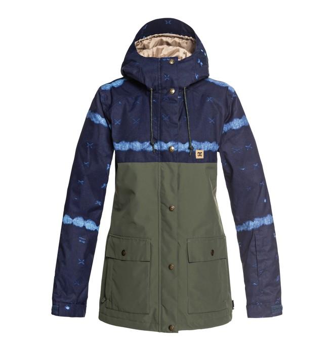 0 Women's Cruiser Snow Jacket Blue EDJTJ03036 DC Shoes