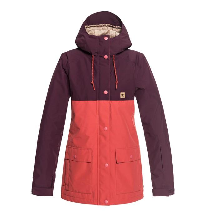 0 Women's Cruiser Snow Jacket Red EDJTJ03036 DC Shoes
