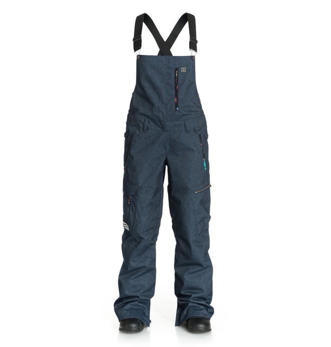 0 Women's Cannon Bib Pants Blue EDJTP03001 DC Shoes