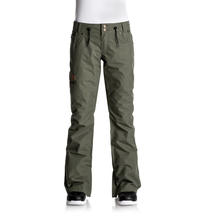 0 Viva - Pantalon de snow Vert EDJTP03012 DC Shoes
