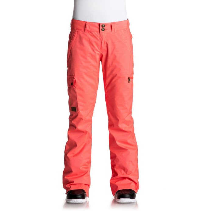 0 Women's Recruit Snow Pants Pink EDJTP03013 DC Shoes