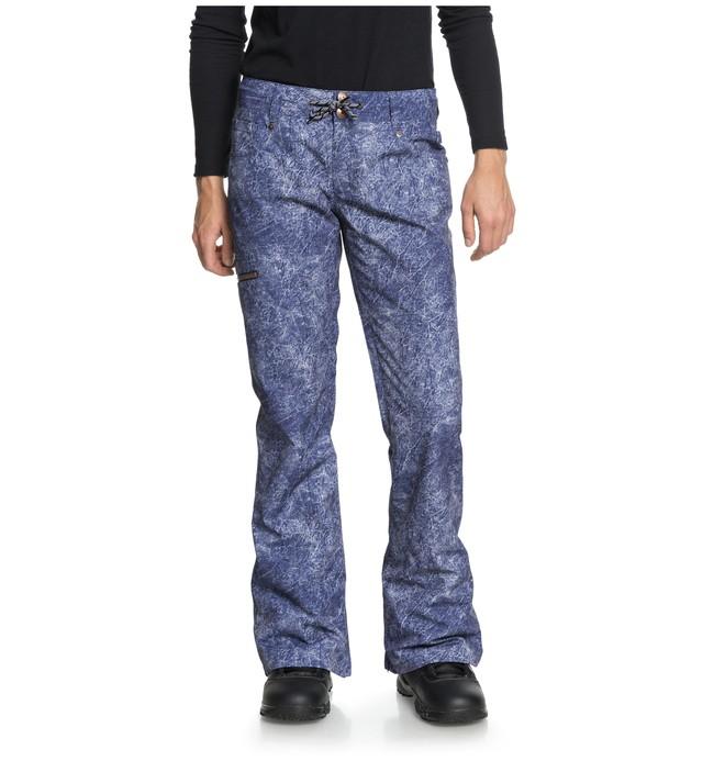 0 Women's Viva Snow Pants Blue EDJTP03017 DC Shoes