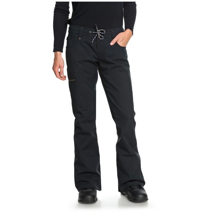 0 Women's Viva Snow Pants Black EDJTP03017 DC Shoes