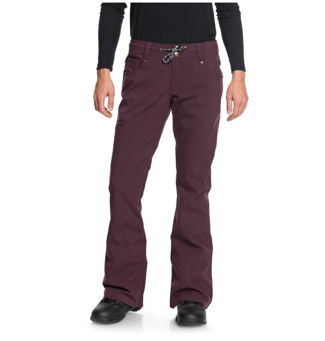 0 Women's Viva Snow Pants Red EDJTP03017 DC Shoes