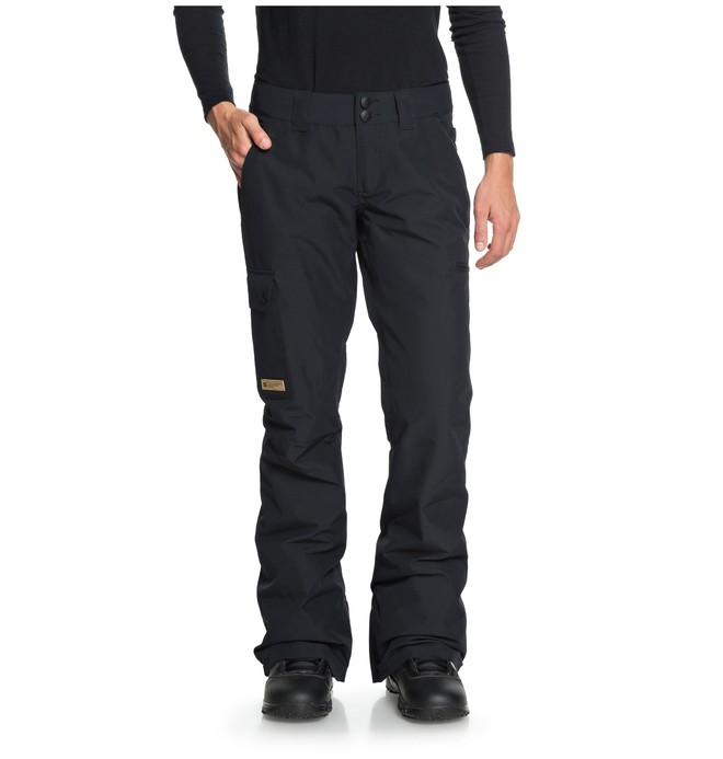 0 Recruit - Snow Pants for Women Black EDJTP03019 DC Shoes