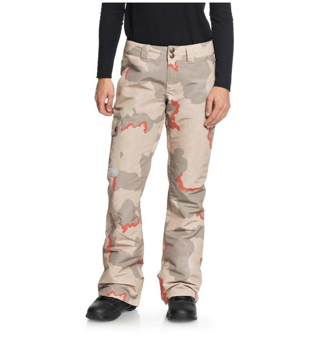 0 Women's Recruit Snow Pants Pink EDJTP03019 DC Shoes