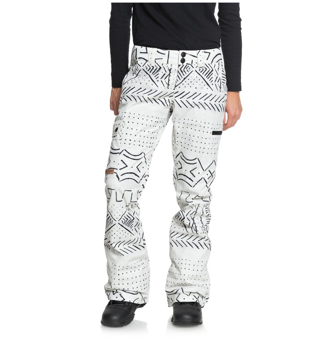 0 Women's Recruit Snow Pants White EDJTP03019 DC Shoes