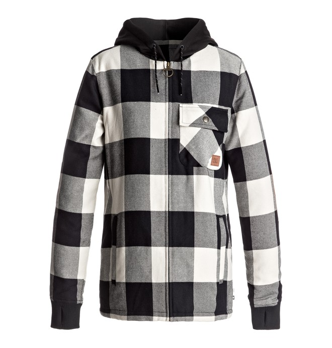 0 Backwoods - Surchemise technique de snow pour Femme  EDJWT03001 DC Shoes