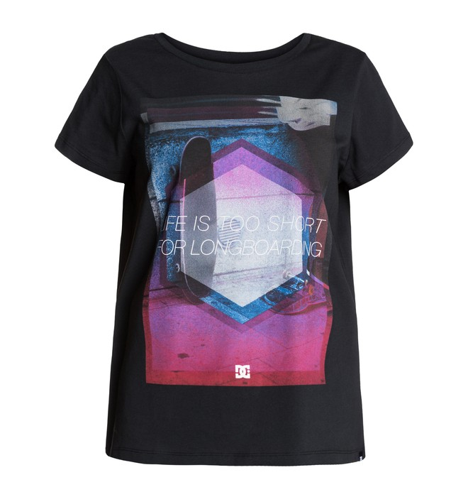 0 Shortlife Wmn Tee  EDJZT03005 DC Shoes