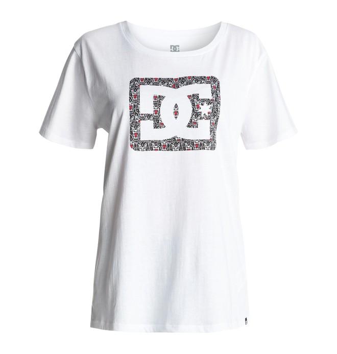 0 Reeves Blackher - T-Shirt  EDJZT03048 DC Shoes
