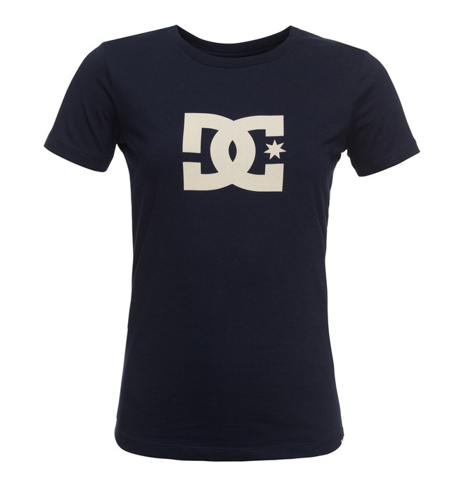 0 Star - T-Shirt Blau EDJZT03084 DC Shoes