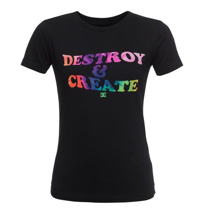 0 Destroy Create - T-Shirt for Women  EDJZT03087 DC Shoes