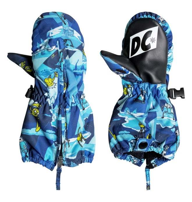 0 Boy's 2-7 Molan Snow Mittens  EDKHN03002 DC Shoes
