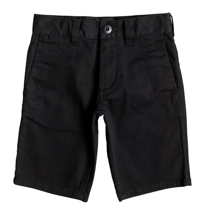 "0 Boy's 4-7 Worker Straight 13.5"" Shorts  EDKWS03001 DC Shoes"
