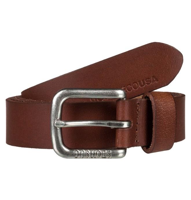 0 Point Taken Leather Belt  EDYAA03136 DC Shoes