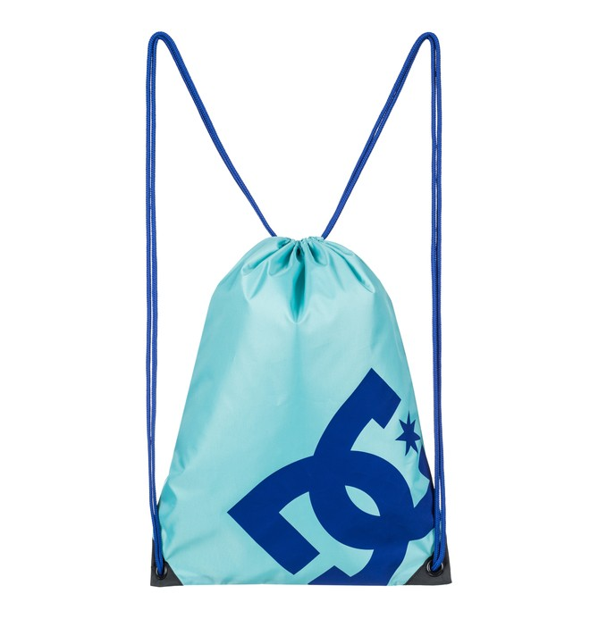 0 Men's Cinched Drawstring Backpack Blue EDYBA03028 DC Shoes