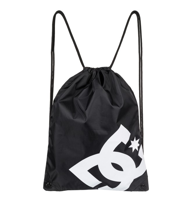 0 Men's Cinched Drawstring Backpack Black EDYBA03028 DC Shoes