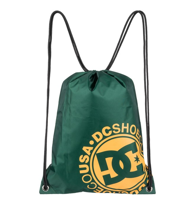 0 Cinched Drawstring Bag Green EDYBA03043 DC Shoes
