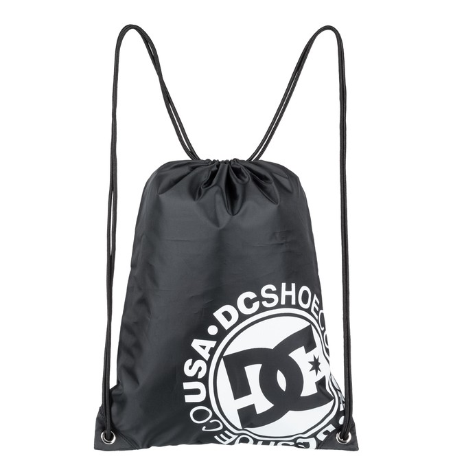 0 Cinched Drawstring Bag Black EDYBA03043 DC Shoes