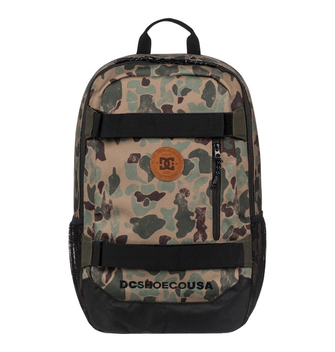 0 Clocked 18L - Medium Backpack Brown EDYBP03137 DC Shoes