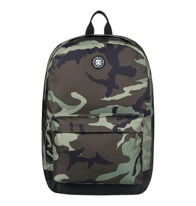 0 Men's 18.5L Backstack Medium Backpack Green EDYBP03156 DC Shoes