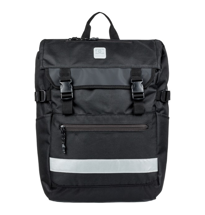 0 Huckstone 30L Large Backpack Black EDYBP03169 DC Shoes