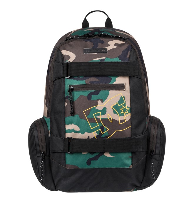 0 The Breed 26L Medium Backpack Green EDYBP03170 DC Shoes