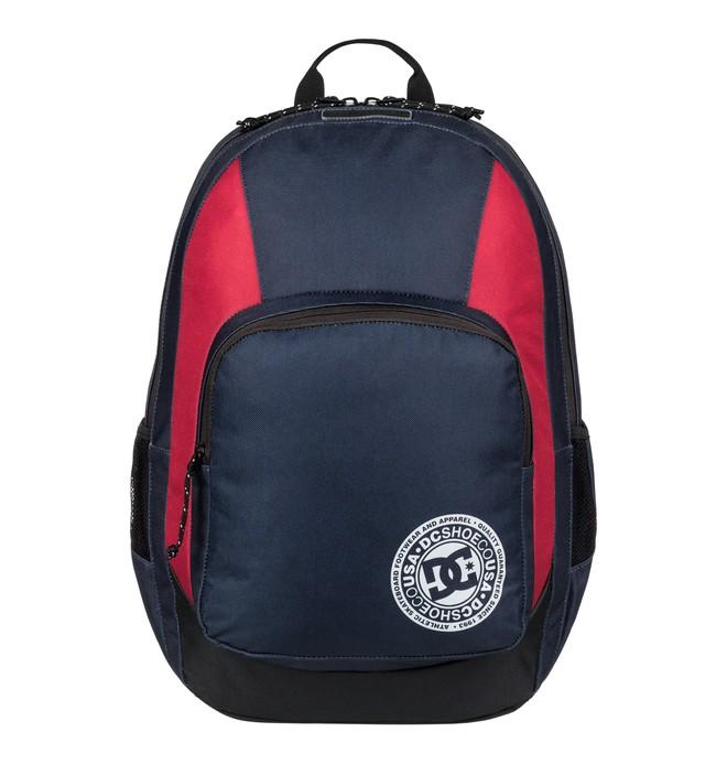0 Men's The Locker 23L Medium Backpack Blue EDYBP03176 DC Shoes