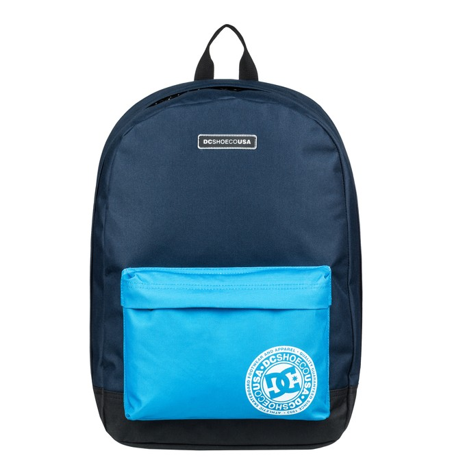 0 Men's Backstack 18.5L Medium Backpack Blue EDYBP03179 DC Shoes