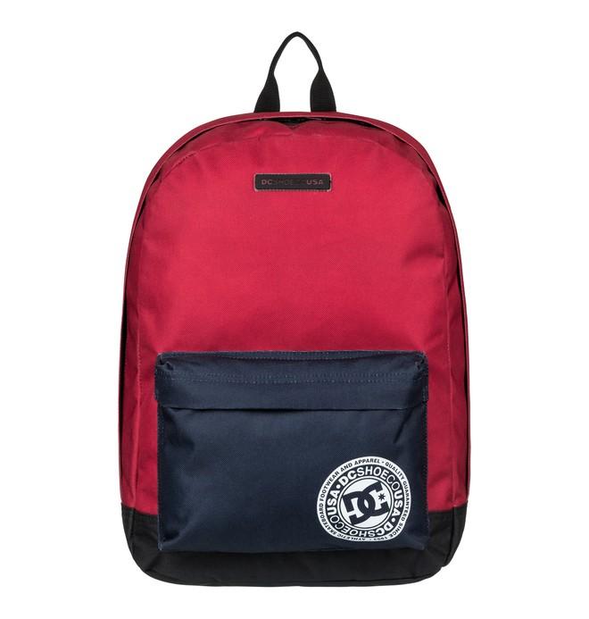 0 Backstack 18.5L Medium Backpack Red EDYBP03179 DC Shoes
