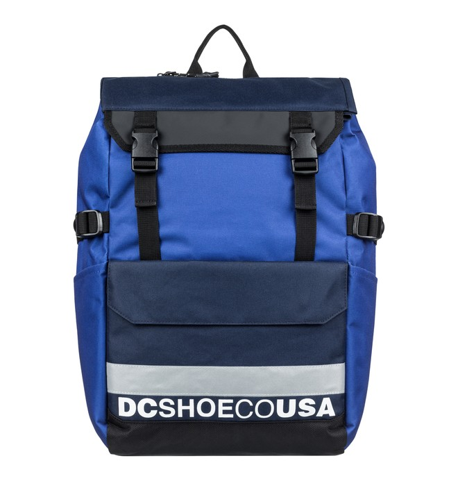 0 Ruckstone 30L Large Backpack Blue EDYBP03191 DC Shoes
