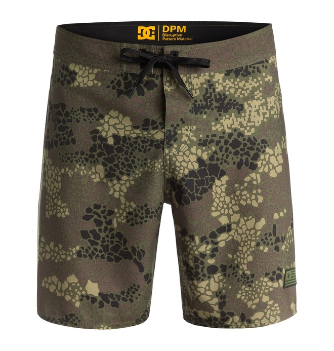 "0 Men's Tars 18"" Camo Boardshorts  EDYBS03028 DC Shoes"