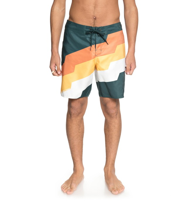 """0 Men's Step Up 18"""" Boardshorts Green EDYBS03066 DC Shoes"""