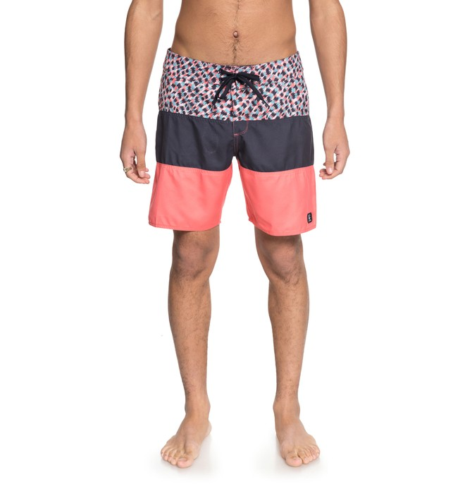"0 Hot Blocked 18"" Boardshorts  EDYBS03069 DC Shoes"