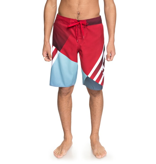 "0 Men's Verticular 21"" Boardshorts Red EDYBS03070 DC Shoes"