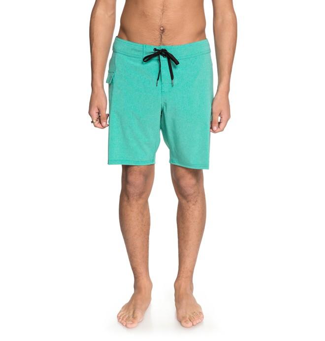 "0 Local Lopa 18"" - Boardshort pour Homme Vert EDYBS03073 DC Shoes"