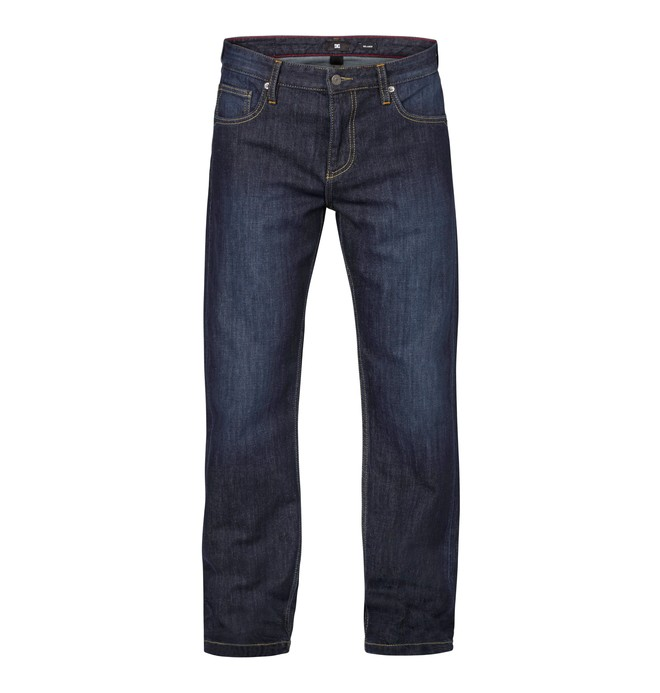 "0 Worker Relaxed Washed 32"" Inseam Jeans  EDYDP03002 DC Shoes"